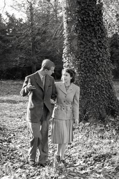 Queen Elizabeth and Prince Philip's Sweetest Moments - TownandCountrymag.com
