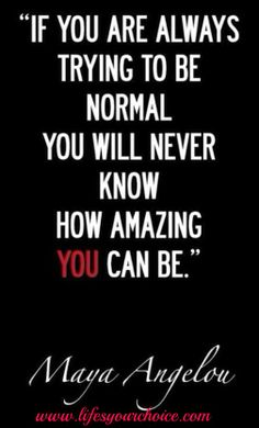 A quote. #choice's #normality #amazing #success