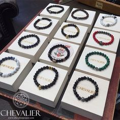 Chevalier Beaded Collection at @247italiastyle  Handcrafted with care in Italy with natural gemstones Be exclusive, get your Chevalier! #Chevalier #ChevalierProject