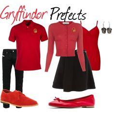 """Gryffindor Prefects"" by sad-samantha on Polyvore"