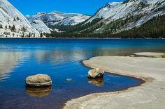 Tenaya Lake East Beach in Yosemite. You Don't Need an Ocean with These Best Lake Beaches in America