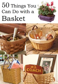 You thought a basket was just for picnics? It's so much more than that.