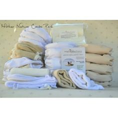 The perfect combination of nappies for full-time cloth nappy users Cloth Diapers, Packing, Nature, Baby, Bag Packaging, Naturaleza, Babys, Baby Humor, Baby Baby