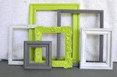 lime green and grey bedroom - I'm thinking these colors for the guest bedroom Lime Green Rooms, Lime Green Kitchen, Lime Green Decor, Living Room Green, Bedroom Green, Green Bedrooms, Modern Bedroom Decor, Trendy Bedroom, Bedroom Furniture