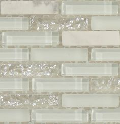 White glitter backsplash #opal #iridescent #pearl