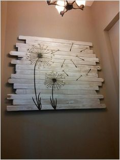 13 Cool Home Decor Projects to Make from Fence Wood 1