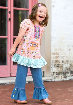 Puppet Show Top - Matilda Jane Clothing
