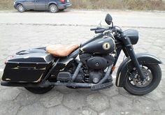 Bild 1: Harley-Davidson Road King Rat Style