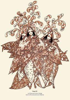 Artist:Baron Hans Henning Voigt (Alastair) 1887-1969 Dover Publications, Black White Art, Antique Illustration, Music Covers, Textiles, Teaching Art, Traditional Art, Coloring Books, Book Art