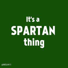 #Spartan #MSU