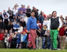 Bill Murray / Joel Murray Photos - Irish Open - Previews -