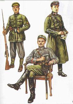 Униформа белорусских формирований литовской армии