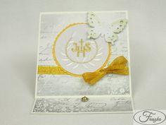 Kartka na Pierwszą Komunię / Paper Card for the First Communion