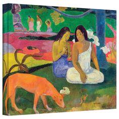 ArtWall Paul Gauguin 'Arearea