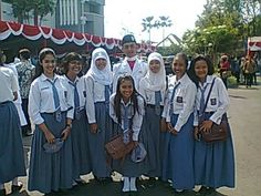 with my class