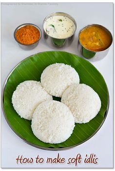 Idli Recipe- love Idlis and the chutneys that go with them! I haven't had any since I was in India. but I got an idli maker on craigs list! ;)