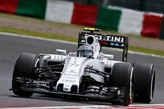 Both MAS and BOT out for their final runs in Q3 of the #JapaneseGP #WeAreRacing #F1