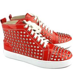 Different Types Of Sneakers Every Man Needs.  Wise men say that spending on things that keep you from the ground such as your bed, mattress, tires, and shoes, is worth the investment. Men should Fancy Shoes, Red Shoes, Me Too Shoes, Men's Shoes, Shoe Boots, Trendy Mens Shoes, Urban Gear, Fashion Merchandising, Red Louboutin