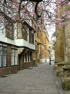 St Marys Passage - Oxford-    old street leading to Radcliffe Square                                                                                                                                                                                 More