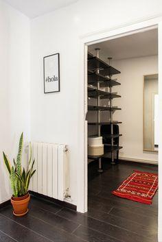 Walk-in closet. Hip apartment Barcelona
