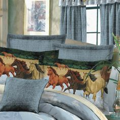 By the Water Euro Sham - Western Wear, Equestrian Inspired Clothing, Jewelry, Home Décor, Gifts