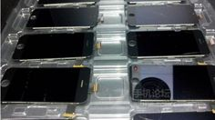 Photos of what may be Apple's iPhone 5S surfaced online Monday.