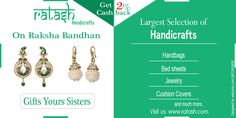 Raksha bandhan Offer :  Gift your loving sisters and make Raksha Bandhan memorable.. Get 2% cash back on all online transaction.. plus Get upto 35% off on all categories.. Visit us: www.ratash.com #rakshabandhan #Shopping #Retail #handicrafts #handsmade #Bags #jewelry #giftforsister #gift #discounts #loving #sisters #cashback #shoppingqueen #products #ratash Ratash #purchase #indiashopping #shoppingsite #onlineshopping Promote Your Handmade Products Google #buy #selling