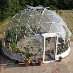 Solardome Geodesic Glass Domes for everything from greenhouses to rooftop getaways... pop up venues and more.