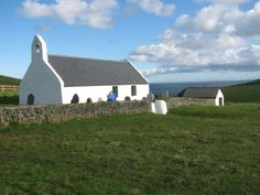 Holy Cross church, Mwnt. Isolated on its west Wales headland hill, the church of the Holy Cross is a reminder of times when people desired to worship where nature was at its most remote.