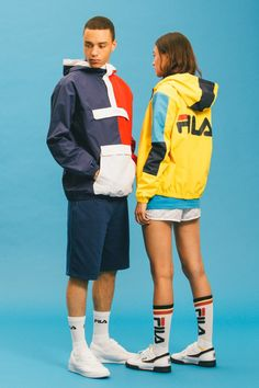 Inspired by the brand's nostalgic catalog from the '80s and '90s.