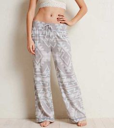 Aerie Wide Leg Sleep Pant.  With plenty of room to be your selfie! #Aerie