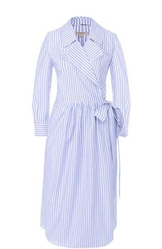 Shop on-sale Cutout striped cotton-poplin maxi shirt dress. Browse other discount designer Maxi Dress & more luxury fashion pieces at THE OUTNET Maxi Shirt Dress, Striped Shirt Dress, Maxi Shirts, Dresses For Sale, Dresses For Work, Summer Dresses, Girls Fashion Clothes, Clothes For Women, Camisa Formal