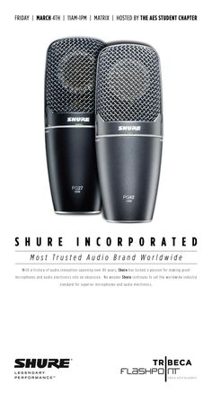 TFA welcomes Shure Incorporated for microphone demo and workshop
