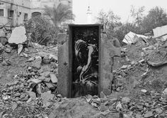 Banksy – Bomb damage, Gaza City