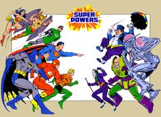 The Super Powers Collection - great childhood memories!