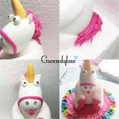Como hacer un unicornio de fondant - Inspirado en Gru Mi Villano Favorito - Ñam, Ñam!!!