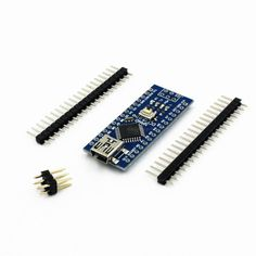 Perhaps the cheapest Arduino you can get. USB Nano V3.0 ATmega328P 5V/16M Microcontroller CH340G.