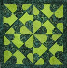 Take the carefree approach to making what may look like a difficult quilt design. What makes it easy? Fusible interfacing!