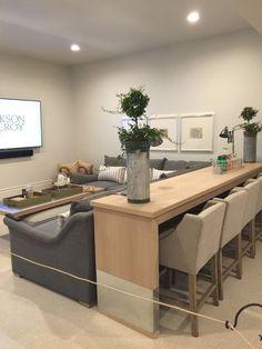 37 Trendy Home Renovation Modern Floor Plans Basement Makeover, Basement Renovations, Home Renovation, Home Remodeling, Basement Remodel Diy, Basement Living Rooms, My Living Room, Cozy Basement, Basement Bathroom