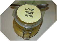 Lyndi's Projects: Lemon Sugar Hand Scrub