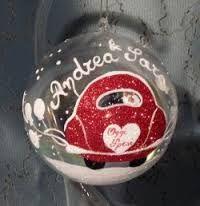Risultati immagini per palline di natale in vetro dipinte a mano
