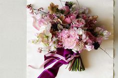 Peonies, hellebores, sweet peas, flowering branches - spring, all wrapped up!
