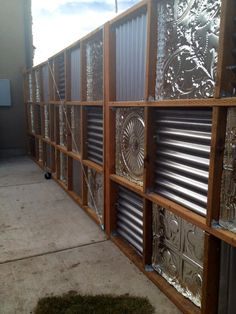 Ways to use corrugated metal-13