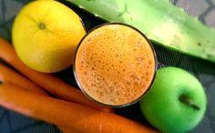 Aloe Juice with Apple, Orange & Carrot | Aloe Vera Juice Recipes