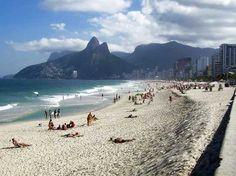 #2 Best Beach in the World  ~~  Ipanema Beach, Rio de Janero, Brazil