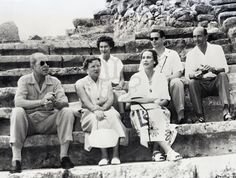 queen frederika of greece with King Paul, Queen Juliana of the Netherlands, King Umberto and Queen Marie Jose of Italy and King Michael of Romania Princess Victoria, Queen Victoria, Michael I Of Romania, Old Photos, Vintage Photos, Romanian Royal Family, Royal Cruise, Central And Eastern Europe, Princess Alexandra