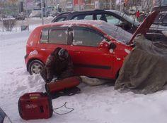 Запуск двигателя в мороз. В чем проблема?