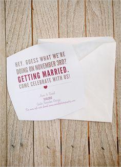 Free Wedding Save The Date Printable #wcfreeprintable #funweddinginvitation #weddingstationery http://www.weddingchicks.com/2013/11/07/pinterest-free-printables-board/