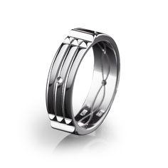 Silver Atlantis ring, 12012803 - Store by Zlatarna Celje