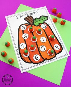 Have you seen these adorable Pumpkin Preschool Activities? Excellent Letter and Number Practice with all of the fall fun of pumpkins. Early Childhood Activities, Toddler Learning Activities, Autumn Activities, Kindergarten Activities, Preschool Art Projects, Preschool Crafts, Preschool Halloween Activities, Preschool Writing, Fall Preschool